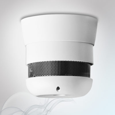Cavius smoke alarm, 10Y 40mm